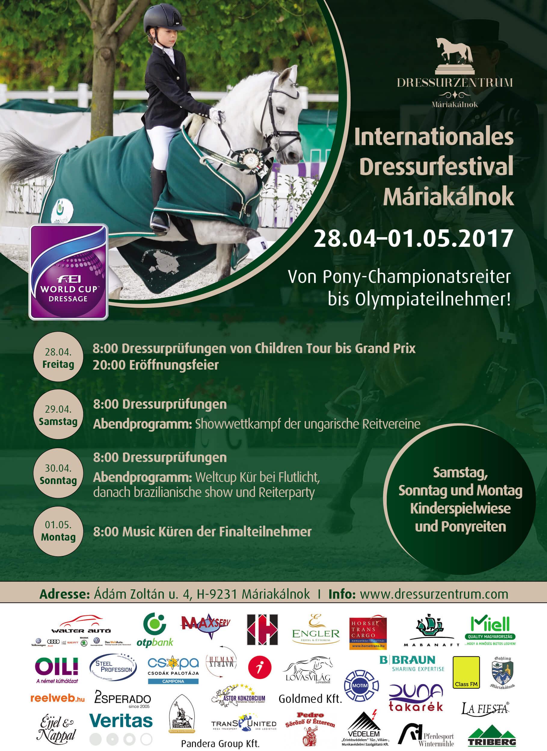 2017. Nemzetközi Dressurfestival